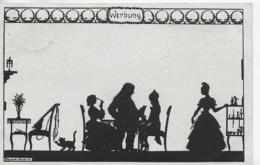 AK 0090  Elsbeth Forck ( Schattenbilder ) - Werbung / Verlag Peters Um 1923 - Silhouettes