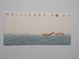 BLOC SOUVENIR : MEILLEURS VOEUX (rouge-gorge) - Blocs Souvenir
