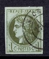 France Bordeaux YT N° 39C Oblitéré. Premier Choix! A Saisir! - 1870 Ausgabe Bordeaux