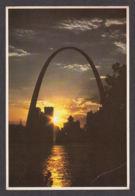 42005/ ST LOUIS, Gateway Arch At Sunset - St Louis – Missouri