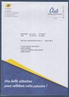 = Enveloppe Entier Postal Monde 250g Club Philaposte Agréée La Poste Validité Permanente 195952 Cadre Philaposte - Postal Stamped Stationery