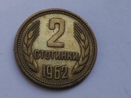 Bulgarie 2 Stotinki  1962          Km#60    TTB - Bulgarie