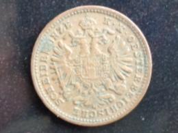 AUTRICHE  1 KREUZER 1885 - Austria