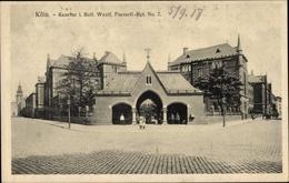 Cp Köln Am Rhein, Kaserne Des I. Batl. Fussartl. Rgt. No. 7, Kasernentor - Allemagne