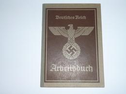 DEUTSCHES REICH- ARBEITSBUCH- EXCELLENT ETAT - 1939-45