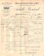 Document Du 05/02/1901 BOURREL Brasserie Anglaise - Larroque-d'Olmes 09 - France