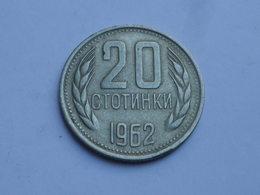 Bulgarie 20  Stotinki  1974    CUPRONICKEL    Km#85    TTB+ - Bulgarie