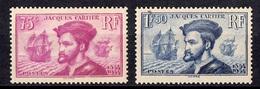 France Paire Cartier YT N° 296/297 Neufs ** MNH. Gommes D'origine. TB. A Saisir! - Frankreich