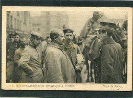 CPA - Interrogatoire D'un Prisonnier à FURNES - Guerre 1914-18