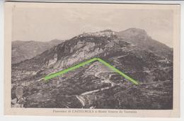 VO 228  /  SICILE /  SICILIA  /  CASTELMOLA E Monte Venere Da TAORMINA  / - Andere Städte