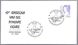 10ª Feria VINOS DEL PONENTE LIGURE. Diano Marina, Imperia, 2004 - Vinos Y Alcoholes