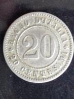 20 CENTESIMI 1894 KB - 1861-1946 : Koninkrijk