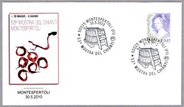 53 FERIA DEL CHIANTI. VINO - WINE. Montespertoli, Firenze, 2010 - Vinos Y Alcoholes
