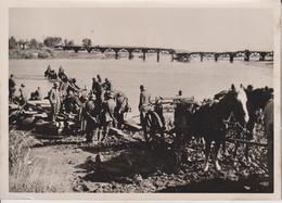 ZWISCHEN DONEZ UND DON  FOTO DE PRESSE WW2 WWII WORLD WAR 2 WELTKRIEG Aleman Deutchland - Guerra, Militares
