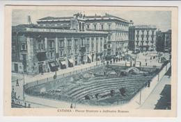 VO 234  /  SICILE /  SICILIA  /   CATANIA   / Piazza  Stesicoro E Anfiteatro  Romano - Catania