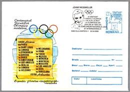 JOHNNY WEISSMULLER, Campeon Olimpico - Olympic Champion - TARZAN. Cluj Napoca 2002 - Juegos Olímpicos