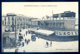 Cpa Du Maroc Casablanca Avenue Du Générale Drude  YN19 - Casablanca