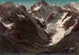Dep 05 , Cpm Col Du Lautaret , 2058m. , Glacier De L'Homme , I.B.C. 148  (D9.059) - Francia