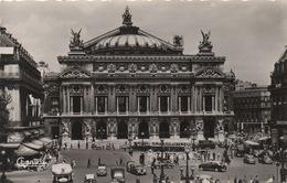CPA 75 PARIS Place De L'Opéra Et Opéra Garnier 1956 - France