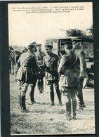 CPA - La Grande Guerre 1914 - Le Roi Georges V Causant Aux Officiers Avant Le Départ Des Troupes - Guerre 1914-18