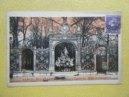 NANCY. La Fontaine D'Amphitrite Et La Grille De Jean Lamour. - Nancy