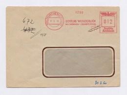 Umschlag AFS - WALDKIRCHEN, Gottlob Wunderlich Waldkirchen-Zschopenthal, 12Pfg, 1944 - Deutschland