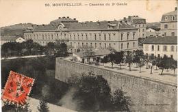 34 - MONTPELLIER - CASERNE DU 2E GÉNIE - Montpellier