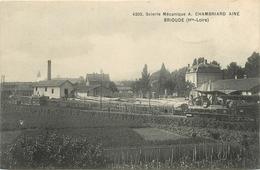 43 - BRIOUDE  - SCIERIE MECANIQUE - A. CHABRIAND AINE - Brioude