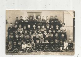 Cp , Carte Photo , école , Enfants , Photo De Classe, Vierge - Schools