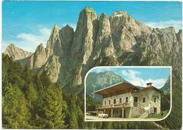 V3045 Dolomiti - Valle Di San Lucano (Belluno) - Monte Agner - Baita Del Tita / Viaggiata 1989 - Autres Villes