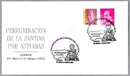 Peregrinacion De LA SANTINA (VIRGEN DE COVADONGA). Luarca, Asturias, 2001 - Cristianismo