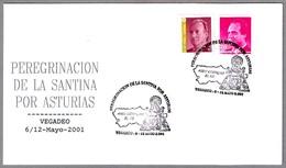 Peregrinacion De LA SANTINA (VIRGEN DE COVADONGA). Vegadeo, Asturias, 2001 - Cristianismo