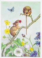 Modern Card - Strawberry Fare - Artist Noel Hopking - Animals