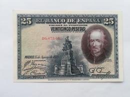 SPAGNA 25 PESETAS 1928 - [ 1] …-1931 : First Banknotes (Banco De España)