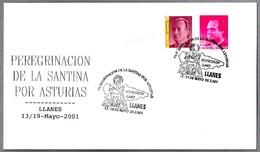 Peregrinacion De LA SANTINA (VIRGEN DE COVADONGA). Llanes, Asturias, 2001 - Cristianismo
