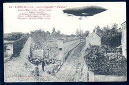 Cpa Du 91 Linas  -- Le Dirigeable Patrie Retour D' Etampes Se Dirigeant Vers Chalais Meudon   YN19 - Sonstige Gemeinden