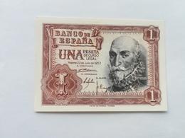 SPAGNA 1 PESETA 1953 - 100 Pesetas