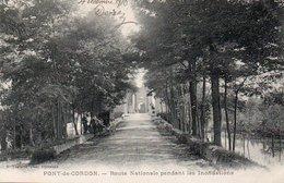 85Ct   01 Pont De Cordon Route Nationale Pendant Les Inondations (pas Courante) - Autres Communes