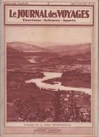 JOURNAL DES VOYAGES N° 119 AVRIL 1928 HAUTE VOLTA TOURISME EN SUEDE CHASSEURS TETES AMAZONE    ACHAT IMMEDIAT - Books, Magazines, Comics