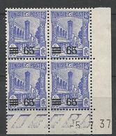 TUNISIE N° 183 COIND DATE NEUF** LUXE SANS CHARNIERE / MNH - Tunisie (1888-1955)