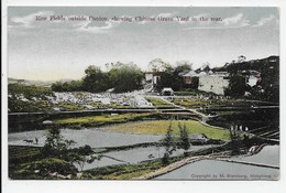 Rice Fields Outside Canton, Showing Chinese Grave Yard In The Rear. - Sternberg - China (Hong Kong)
