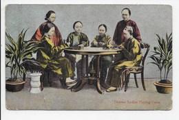 Chinese Ladies Playing Cards. - Sternberg - China (Hong Kong)