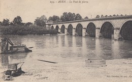 AGEN: Le Pont De Pierre - Agen