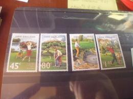 NOUVELLE ZELANDE YVERT N°1348.1351** - Nouvelle-Zélande