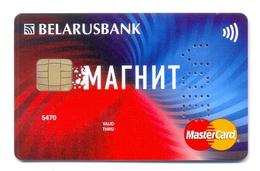 Belarus BelarusBank Magnit - Cartes De Crédit (expiration Min. 10 Ans)