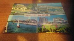 Cartolina:Saluti Da  Riccione Viaggiata (a31) - Non Classificati