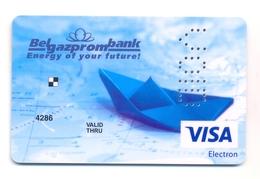 Belarus BelGazPromBank Energy Of Your Future - Cartes De Crédit (expiration Min. 10 Ans)