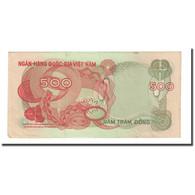 Billet, South Viet Nam, 500 D<ox>ng, Undated (1970), KM:28a, TB - Viêt-Nam