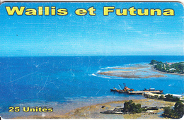 WALLIS & FUTUNA(chip) - Vue Port De Leava(no Number), Tirage 10000, Used - Wallis Und Futuna
