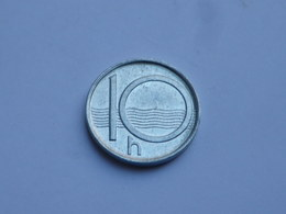 Tchequie 10 Haleru  1996 B  Aluminium  Km#6   TTB ++ - Czech Republic